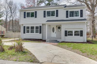 Hampton Single Family Home New Listing: 112 Prince James Dr
