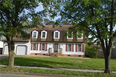 Virginia Beach Single Family Home New Listing: 4433 Revere Dr
