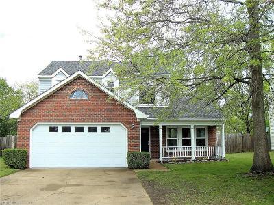 Virginia Beach Single Family Home New Listing: 1093 Radisson Ct