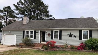 Chesapeake Single Family Home New Listing: 511 Akron Ave
