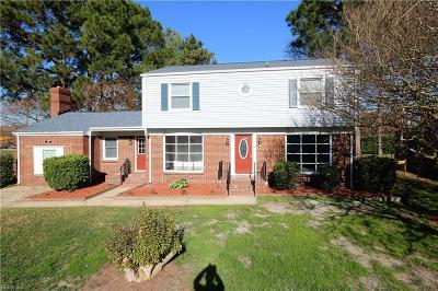 Chesapeake Single Family Home Under Contract: 361 Dexter St