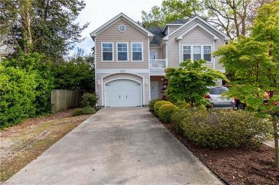 Virginia Beach Single Family Home New Listing: 2209 W Berrie Cir