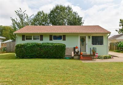 Portsmouth Single Family Home New Listing: 1029 Jewell Ave
