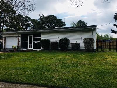Virginia Beach Single Family Home New Listing: 968 Sunnyside Dr