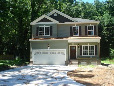 Hampton Single Family Home New Listing: 507 Homeland St
