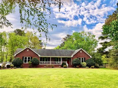 Chesapeake Single Family Home New Listing: 733 Fentress Airfield Rd