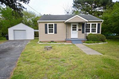 Portsmouth Single Family Home New Listing: 7 Maupin Ct #A