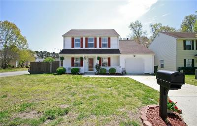 Newport News Single Family Home New Listing: 622 Cristal Dr