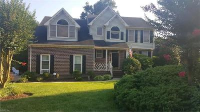 Chesapeake Single Family Home New Listing: 1203 Roble Ct