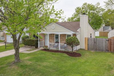Virginia Beach Single Family Home New Listing: 803 Dryden St
