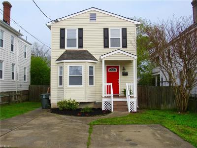 Hampton Single Family Home New Listing: 505 N Mallory St