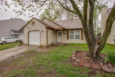 Virginia Beach Single Family Home New Listing: 3801 Frazier Ln