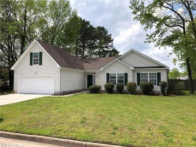Chesapeake Single Family Home New Listing: 218 Rountree Dr