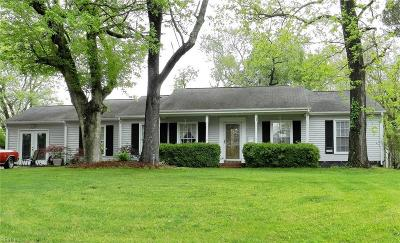 Newport News Single Family Home New Listing: 708 Godfrey Dr