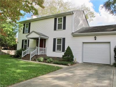 Chesapeake Single Family Home New Listing: 805 Shadowood Ln
