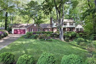 Newport News Single Family Home For Sale: 7 Woodlake Cir