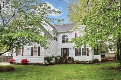 Chesapeake Single Family Home New Listing: 806 Crosswood Ct