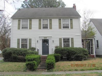 Portsmouth Single Family Home New Listing: 301 Douglas Ave