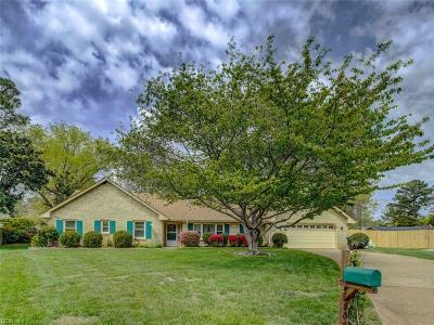 Virginia Beach Single Family Home New Listing: 809 Southampton Cir
