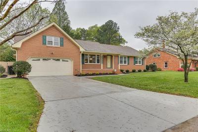 Virginia Beach Single Family Home New Listing: 4869 Admiration Dr
