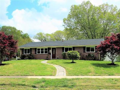 Virginia Beach Single Family Home New Listing: 400 Appian Ave
