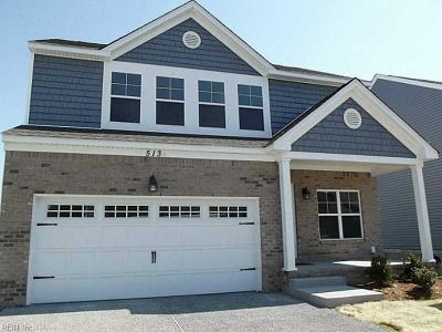 Portsmouth Single Family Home New Listing: 513 B Hamilton Ave