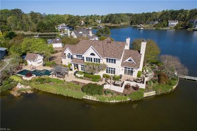 Virginia Beach Single Family Home For Sale: 1800 Eden Way