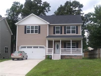Newport News Single Family Home For Sale: 707 Cristal Dr