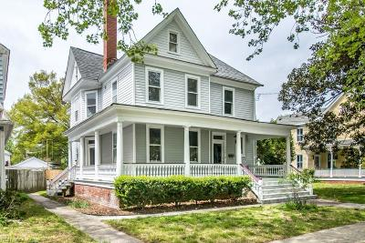 Portsmouth Single Family Home For Sale: 408 Mount Vernon Ave