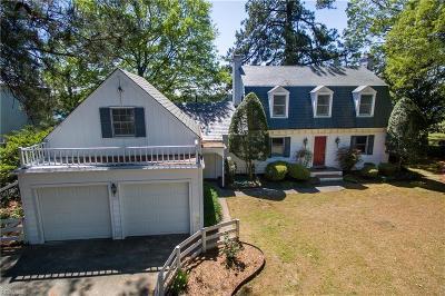 Portsmouth Single Family Home For Sale: 4133 Duke Dr