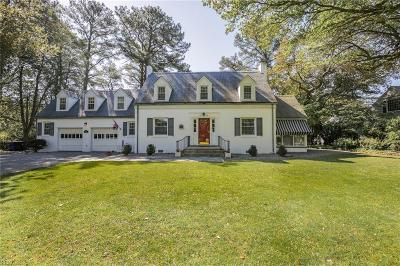 Norfolk Single Family Home For Sale: 1333 Windsor Point Rd