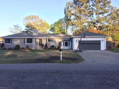 Portsmouth Single Family Home For Sale: 3301 Courtney Rd