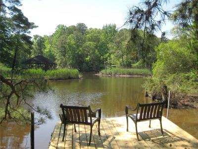 Newport News Single Family Home For Sale: 214 Maxwell Ln
