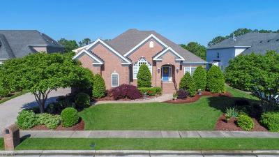 Portsmouth Single Family Home For Sale: 4024 Estates Ln