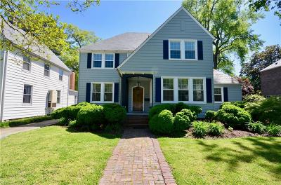 Norfolk Single Family Home Under Contract: 1425 Bolling Ave