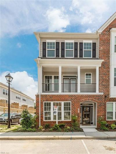 Newport News Single Family Home For Sale: 507 Violet Ct #138