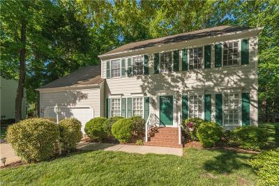 Newport News Single Family Home For Sale: 320 Watermill Rn