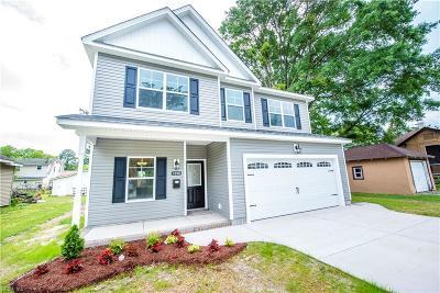 Norfolk Single Family Home For Sale: 2966 Lens Ave