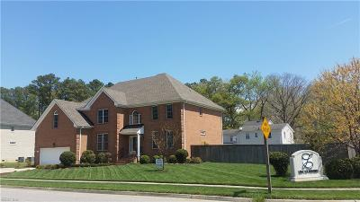 Chesapeake Single Family Home For Sale: 301 Clydes Way