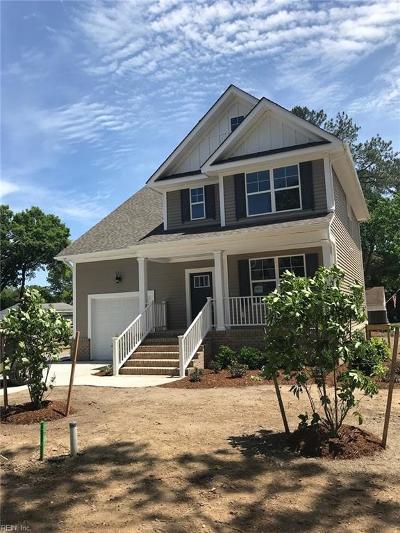 Norfolk Single Family Home For Sale: 7420 Glenroie Avenue