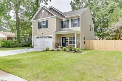 Norfolk Single Family Home For Sale: 2203 Abbey Rd