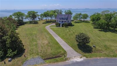Cape Charles Single Family Home For Sale: 1495 Arlington Chase Rd