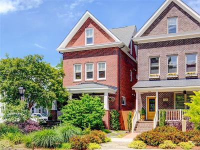 Norfolk Single Family Home For Sale: 728 Redgate Ave