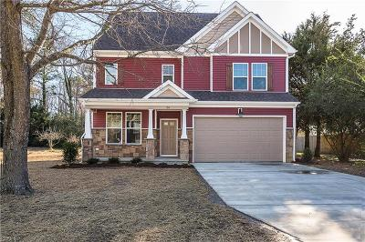 Newport News Single Family Home For Sale: 122 Lucas Creek Road Rd