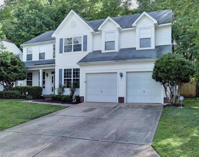 Newport News Single Family Home For Sale: 208 Southlake Pl