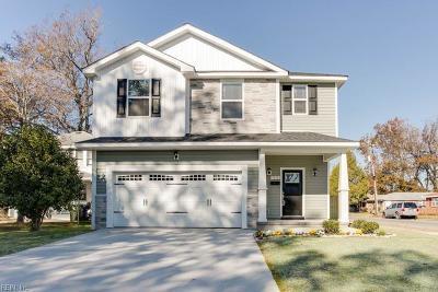 Norfolk Single Family Home For Sale: 9300 Buckman Ave