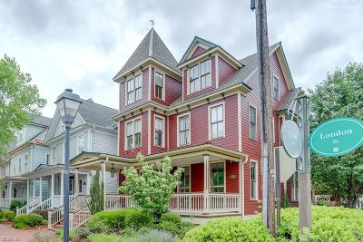 Portsmouth Single Family Home For Sale: 627 London St