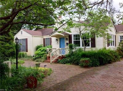 Virginia Beach Single Family Home New Listing: 212 75th St