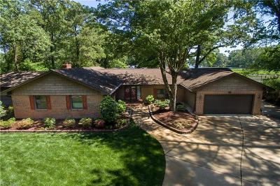 Virginia Beach Single Family Home New Listing: 624 Timberland Trl