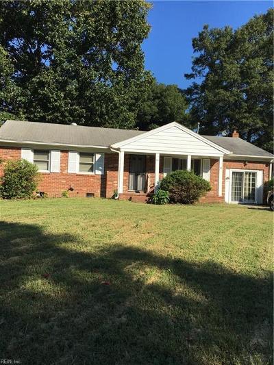 Newport News Single Family Home For Sale: 96 Cindy Cir